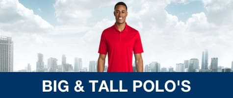 big and tall polo