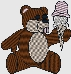 custom bear embroidery design