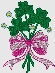 custom holiday embroidery design