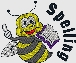 spelling bee embroidered design