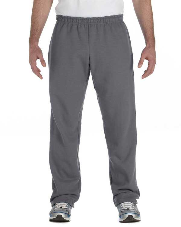 g184 Gildan 7.75 oz. Heavy Blend 50/50 Open-Bottom Sweatpants