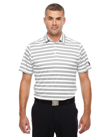 1283704 Under Armour Men's Tech Stripe Polo