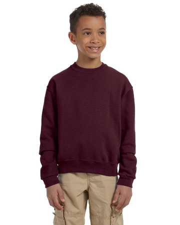 562B JERZEES Youth Mid-weight 50/50 Crewneck