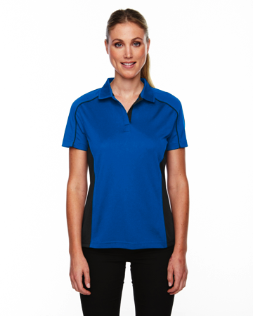 75113 Ash City - Extreme Eperformance Ladies' Fuse Snag Protection Plus Colorblock Polo