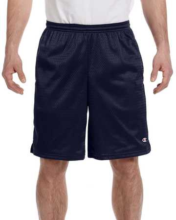 81622 Champion Long Mesh Shorts with Pockets