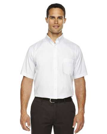 88194T Ash City Core 365 Men's Tall Optimum Short-Sleeve Twill Shirt