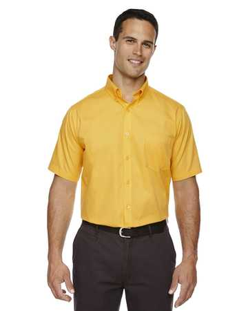 88194 Ash City Core 365 Men's Optimum Short-Sleeve Twill Shirt