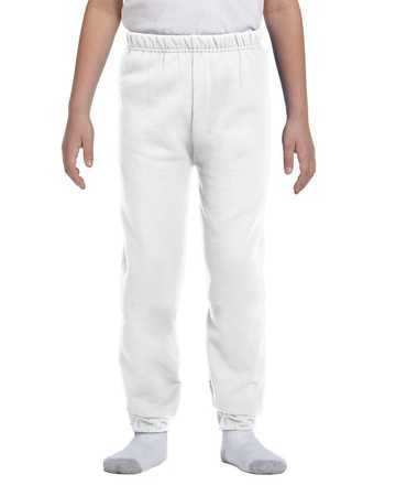 973b JERZEES Youth Mid-weight 50/50 Fleece Pant