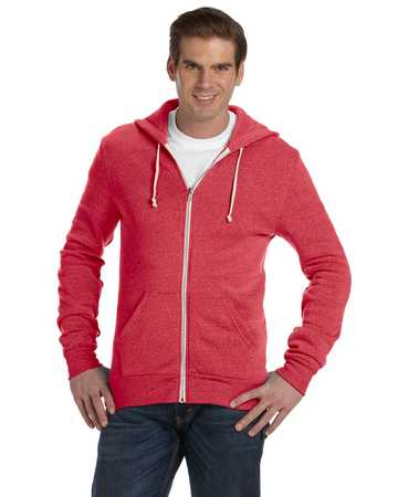 AA9590 Alternative Men's Rocky Zip Hoodie