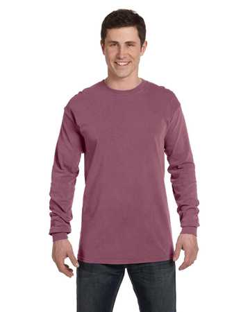 C6014 Pigment Dyed Long Sleeve T-Shirt