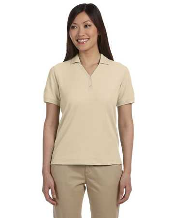 d100w Devon and Jones Ladies Fine Pima Pique Polo