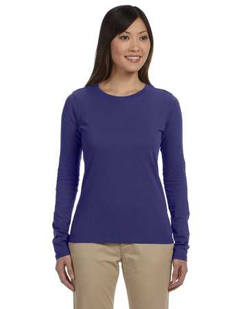 EC3500 econscious Ladies' 4.4 oz., 100% Organic Cotton Classic Long-Sleeve T-Shirt
