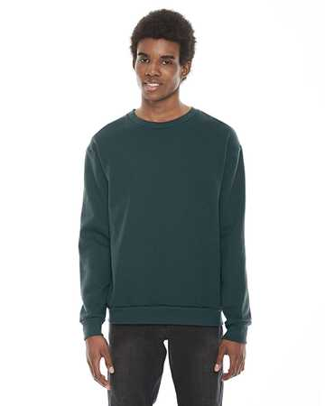 F496 American Apparel Unisex Flex Fleece Drop Shoulder Pullover Crewneck