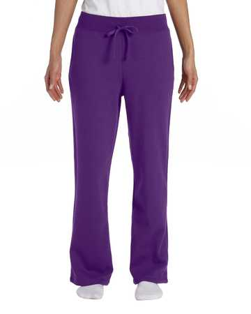 G184FL Gildan Ladies 7.75 oz. Heavy Blend™ 50/50 Open-Bottom Sweatpants
