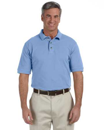 m200 Harriton Mens 6 oz. Ringspun Cotton Pique Short-Sleeve Polo