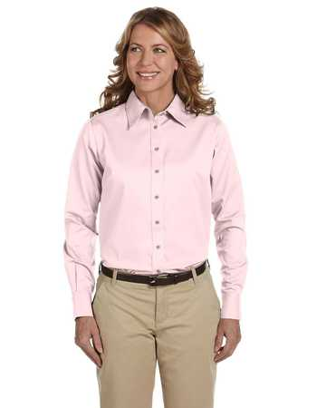 M500W Women's Long Sleeve Twill with stain release.