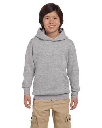 P473 Youth Comfort Blend Pullover Hood