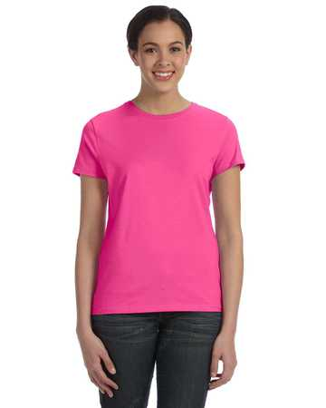 SL04 Hanes - Ladies Nano-T Cotton T-Shirt
