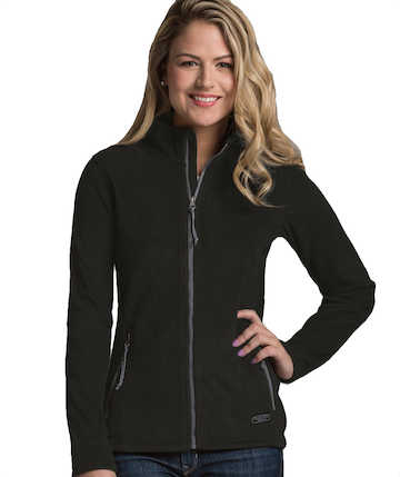 NEW 5250CR Women's Boundary Fleece Jacket by Charles River