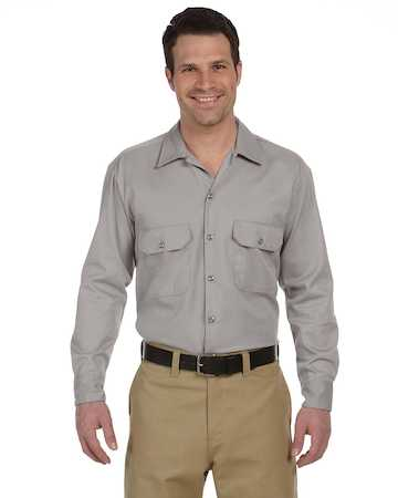 574 Dickies Men's Long Sleeve Twill Workshirt