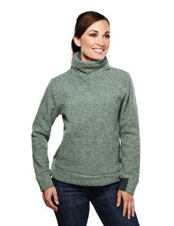 7070 Solace Tri-Mountain Micro Fleece Turtleneck