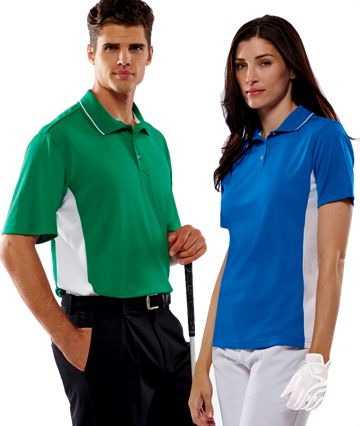 8406 Ultra Club Cool-N-Dry Sport Two-Tone Polo