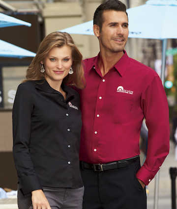 8991 Ultra Club Mens Whisper Elite Twill Shirt