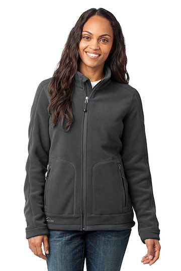 eb231 NEW Eddie Bauer Ladies Wind Resistant Full-Zip Fleece Jacket