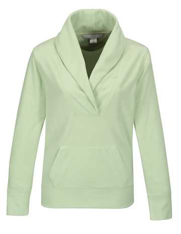 FL7270 Helena Tri-Mountain Micro Fleece Pullover