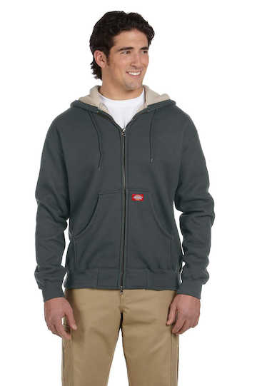 TW385 Dickies Bonded Waffle-Knit Hooded Jacket