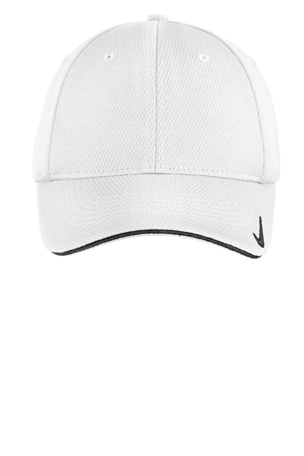 556a9e8d8 Embroidered 333115 Nike GOLF DRI Fit Mesh Swoosh Flex Sandwich Cap