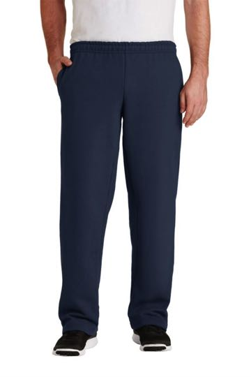 12300 Gildan - Dryblend Open Bottom Pocketed Sweatpants