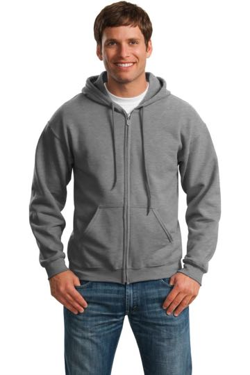 18600 Gildan heavy blend full-zip hooded sweatshirt