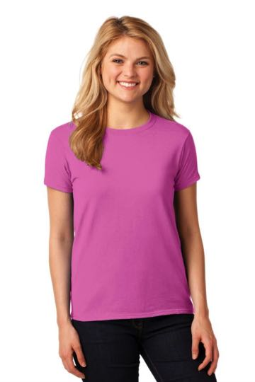 5000L Gildan Ladies' Heavy Cotton Short Sleeve T-Shirt