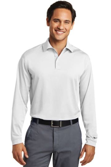 604940 Nike Golf Tall Long Sleeve Dri-FIT Stretch Tech Polo