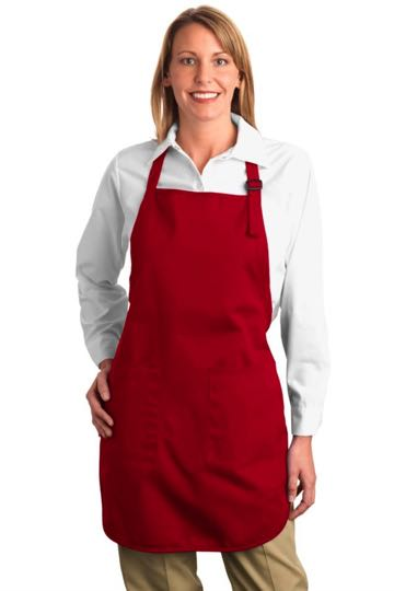 A500 Port Authority - Full Length Apron with Pockets
