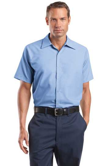 CS26 Red Kap® - Short Sleeve Pocketless Gripper Shirt