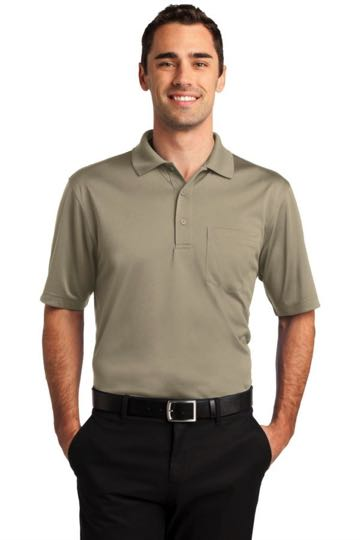 CS412P CornerStone Select Snag Proof Pocket Polo