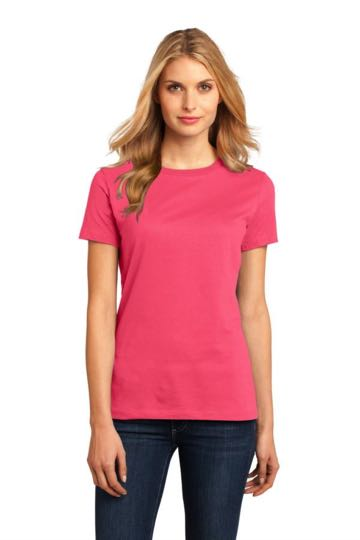 DM104L District Made - Ladies Perfect Weight Crew Tee