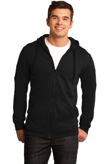 DT800 Young Mens Concert Fleece Full-Zip Hoodie