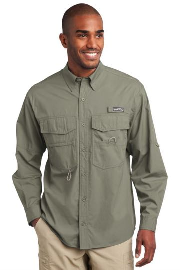 EB606 Eddie Bauer Long Sleeve Fishing Shirt