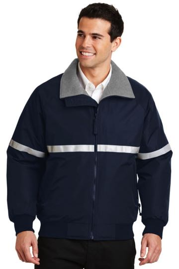 j754r Port Authority® - Challenger Jacket with Reflective Taping.