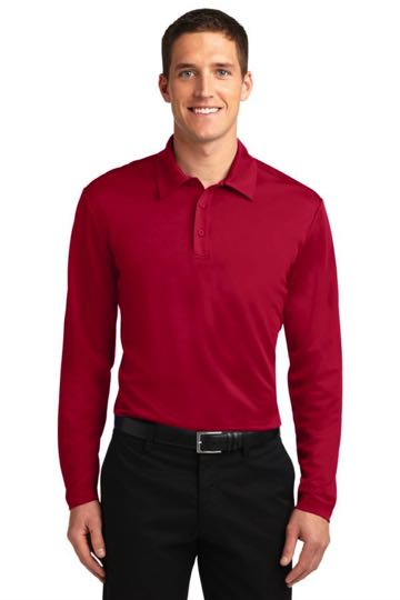 K540LS Silk Touch Performance Long Sleeve Polo