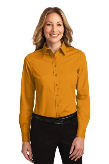 L608 Ladies L/S Easy Care Shirt