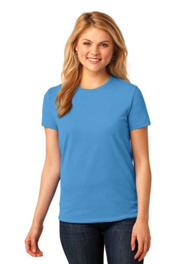 LPC54 Port & Company® Ladies 5.4-oz 100% Cotton T-Shirt