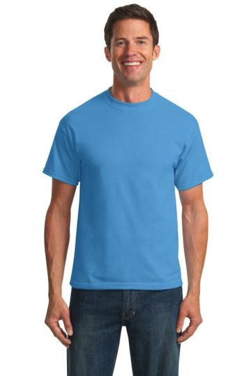 PC55T Port & Company TALL 50/50 Cotton/Poly T-Shirts - TALL SIZES