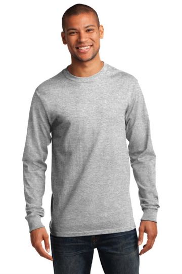 pc61lst Port & Company TALL Long Sleeve Essential T-Shirt - TALL SIZES