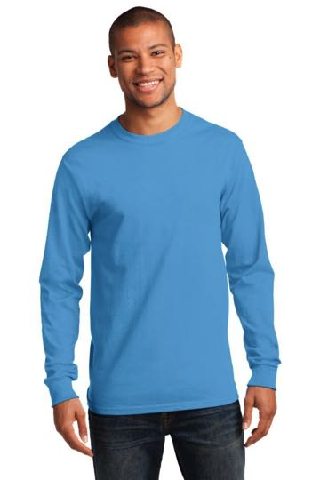 PC61LS Port & Company® - 100% Cotton Essential Long Sleeve T-Shirt.