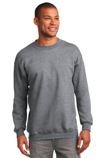 pc90t Port & Company® TALL Ultimate Crewneck Sweatshirt - TALL SIZING