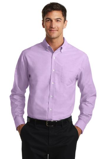 S658 Port Authority SuperPro Oxford Shirt